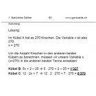 Mathematik 1 | Sek | Gymicards Lernkarten 3